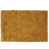 Sensual Hand-woven Gold Rug - 5' x 7'6