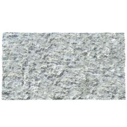 Sensual Hand-woven Silver Rug (5'3 x 7'7)