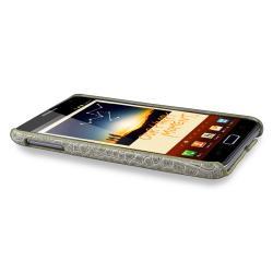 Pale Olive Crocodile Rear Case for Samsung Galaxy Note N7000/ i717