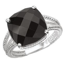 Avanti Sterling SIlver and Black Onyx Ring|https://ak1.ostkcdn.com/images/products/80/201/P14366576.jpg?impolicy=medium