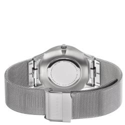 Skagen Men's Titanium Blue Dial Mesh Bracelet Watch