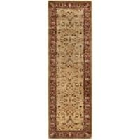 "Safavieh Handmade Persian Legend Gold/ Rust Wool Rug - 2'6"" x 12'"