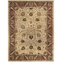 Safavieh Handmade Persian Legend Ivory/ Red Wool Rug - 8'3 x 11'