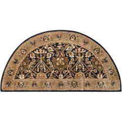 Safavieh Handmade Persian Legend Blue/ Gold Wool Rug (2'6 x 5' Hearth)