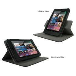 rooCASE Dual-View Leather Case Cover for Google Nexus 7 Tablet