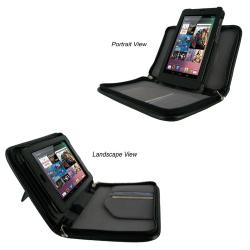 rooCASE Executive Portfolio Leather Case Cover for Google Nexus 7 Tablet