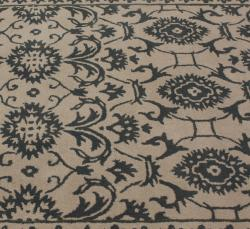 nuLOOM Handmade Persian Motif Natural Wool Rug (7'6 x 9'6)
