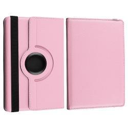 Pink Swivel Leather Case/ Black Stylus for Amazon Kindle Fire - Thumbnail 2