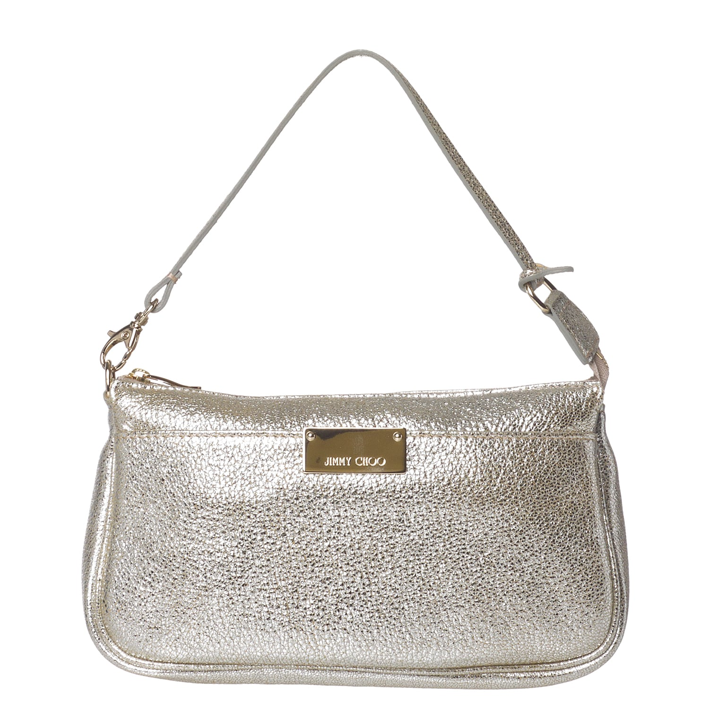 Jimmy Choo '247 RELLA GLE' Metallic Mini Bag