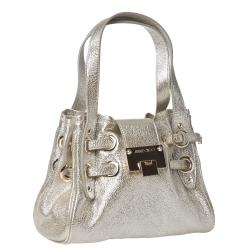 Jimmy Choo '247 ROQUETT GLE' Metallic Shoulder Bag - Thumbnail 1