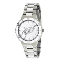 Game Time Women's Philadelphia Eagles Logo Pearl Watch