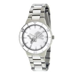 Game Time Women's Detroit Lions Logo Pearl Watch