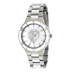 Game Time Women's Baltimore Ravens Logo Pearl Watch