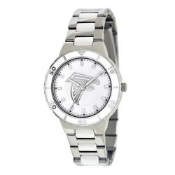 Game Time Women's Atlanta Falcons Logo Pearl Watch