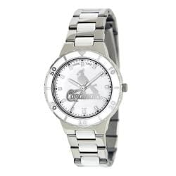Game Time Women's St. Louis Cardinals Logo Pearl Watch