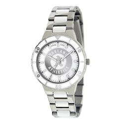 Game Time Women's MLB Oakland Athletics Logo Pearl Watch