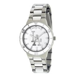 Game Time Women's Los Angeles Dodgers Logo Pearl Watch
