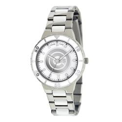 Game Time Women's Chicago Cubs Logo Pearl Watch