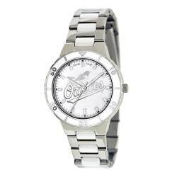 Game Time Women's MLB Baltimore Orioles Logo Pearl Watch|https://ak1.ostkcdn.com/images/products/80/251/P14430495.jpg?impolicy=medium