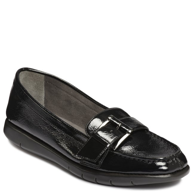A2 by Aerosoles Hall of Black Patent Loafer