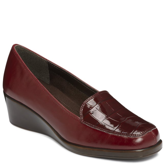 A2 by Aerosoles Tempting Wine Combo Wedges