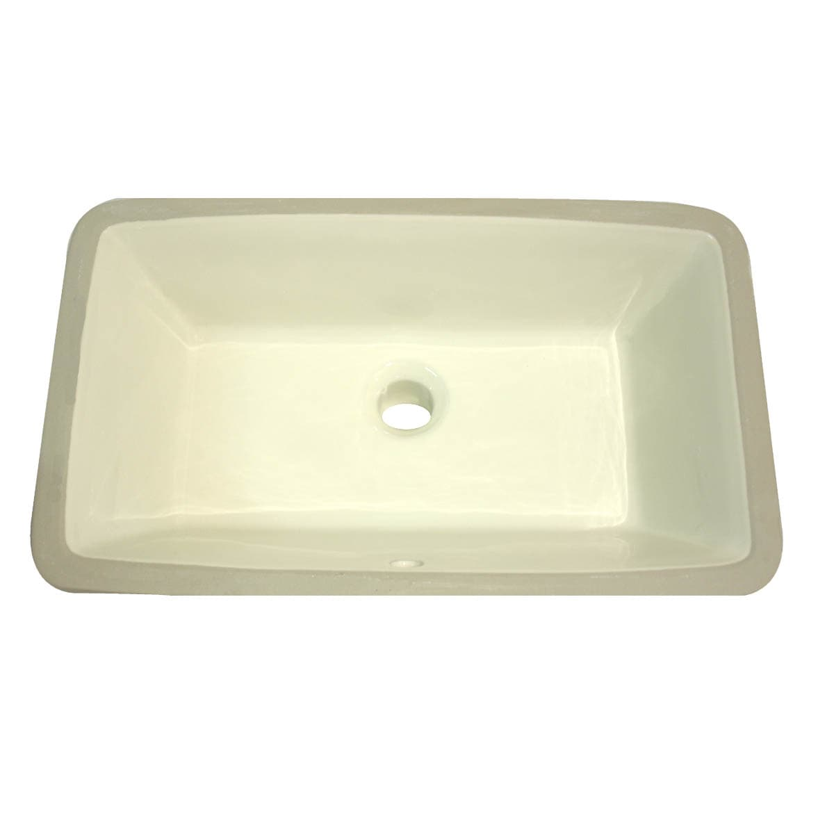 Highpoint Collection Bisque Ceramic Undermount Vanity Sink (Pack of 4)