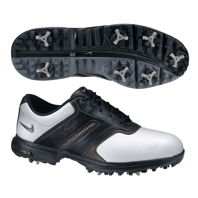 wholesale dealer 65fff dd930 Shop Nike Mens Air Tour Saddle II White Silver Black Golf Shoes (Blem) -  WhiteSilverBlack - Free Shipping Today - Overstock.com - 6958931