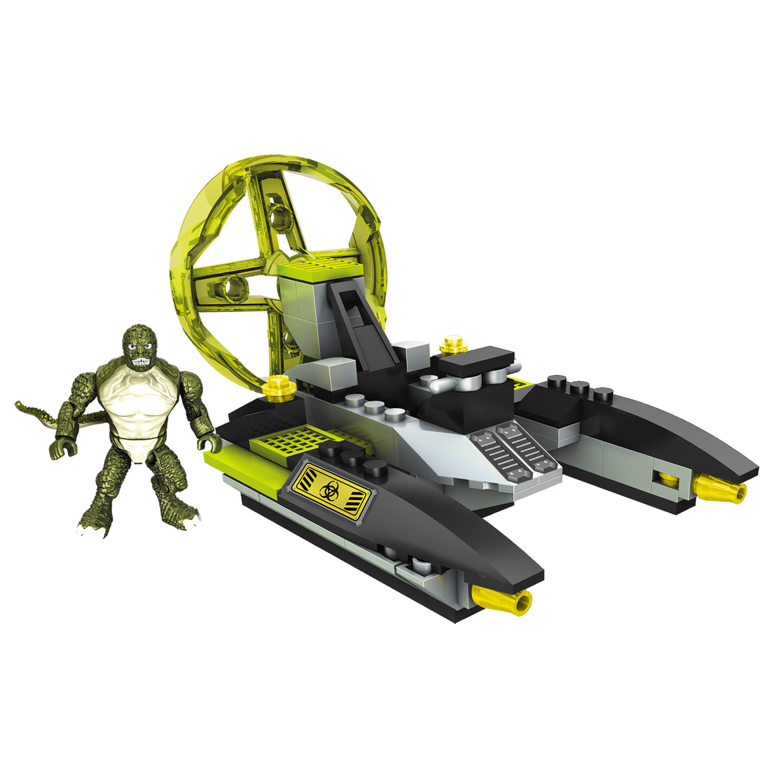 Mega Bloks Amazing Spider-Man Lizardman Sewer Speeder Playset