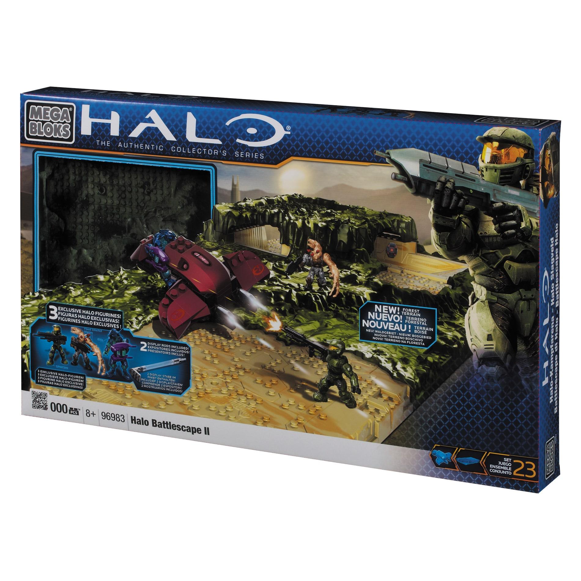 Mega Bloks Build and Expand Halo Battlescape II F Creative Playset