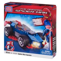 Mega Bloks Amazing Spider-Man Stealth Speeder Playset - Thumbnail 1