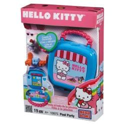 Mega Bloks Hello Kitty Pool Buildable Playset with Collectibles - Thumbnail 0