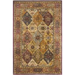 "Safavieh Handmade Persian Legend Multi/ Rust Wool Rug - 9'6"" x 13'6"" - Thumbnail 0"
