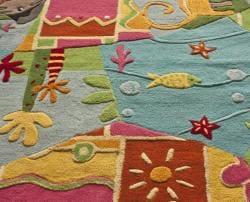 nuLOOM Handmade Kids Jungle Wool Rug (5' x 7') - Thumbnail 2