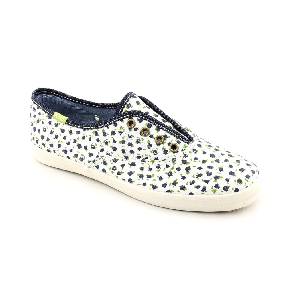 white floral keds shoes