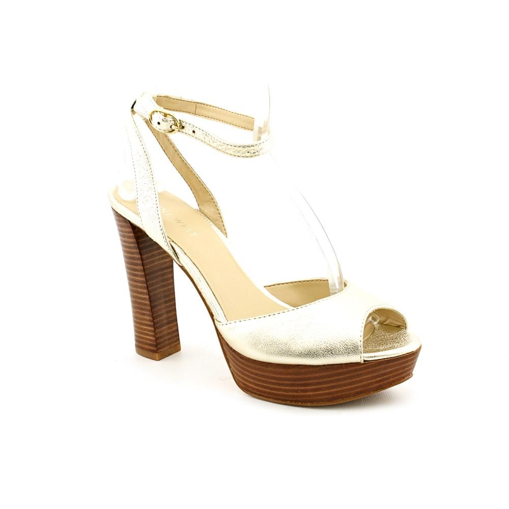 Nine West Women's 'Calculate' Leather Sandals