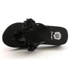 Yellowbox Women's 'Hala' Regular Suede Sandals - Thumbnail 2