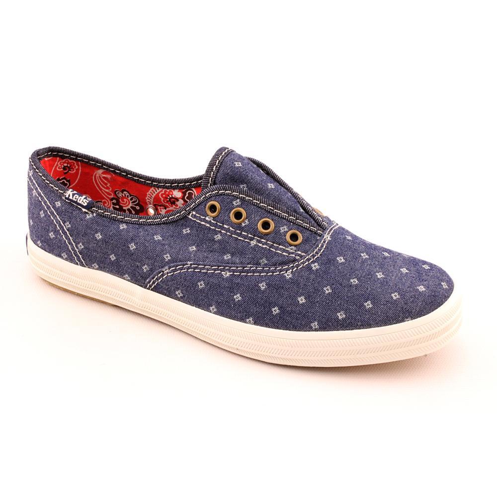 Keds Women's 'Champion Laceless Floral' Basic Textile Casual Shoes