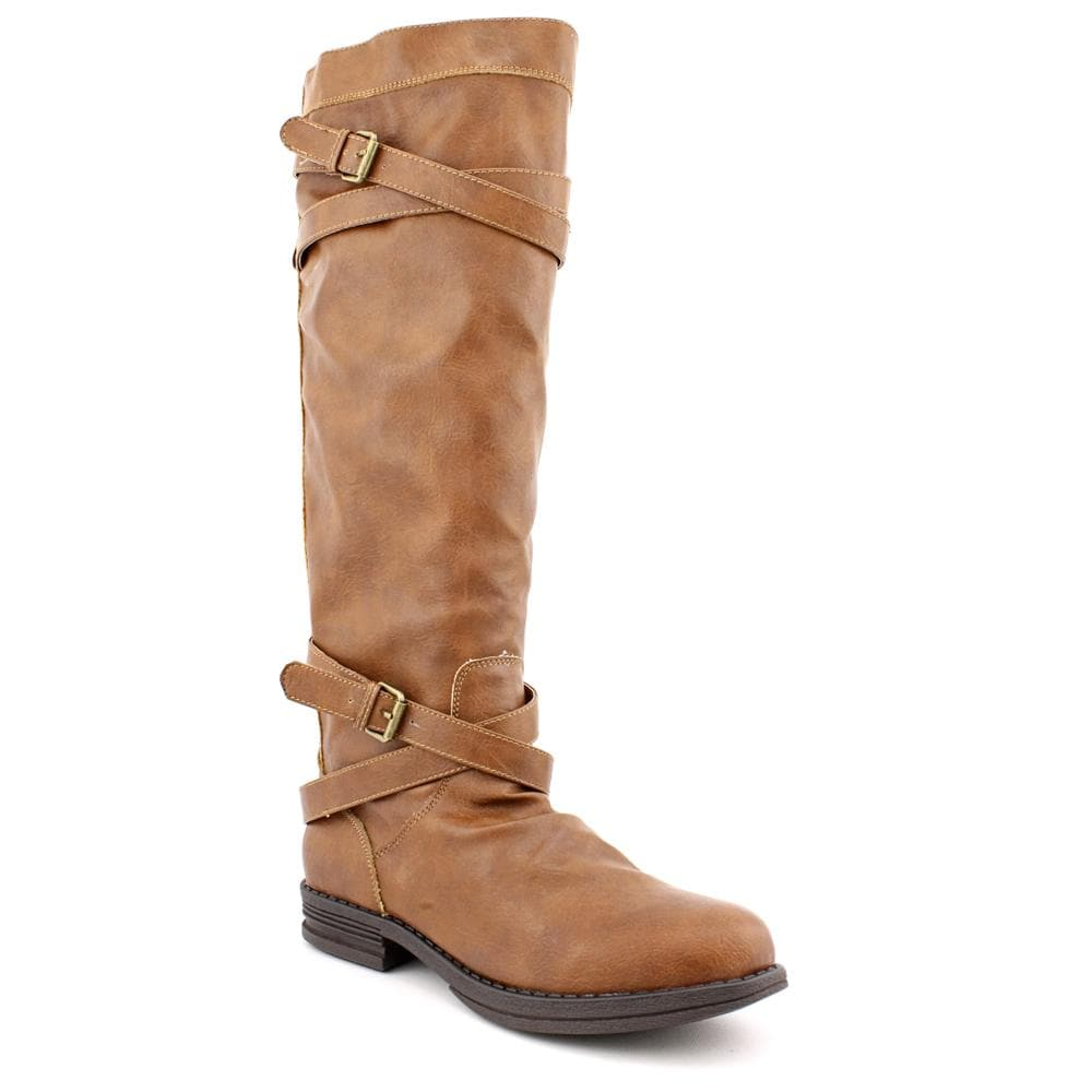 Madden Girl Women's 'Zerge' Faux Leather Boots (Size 6)