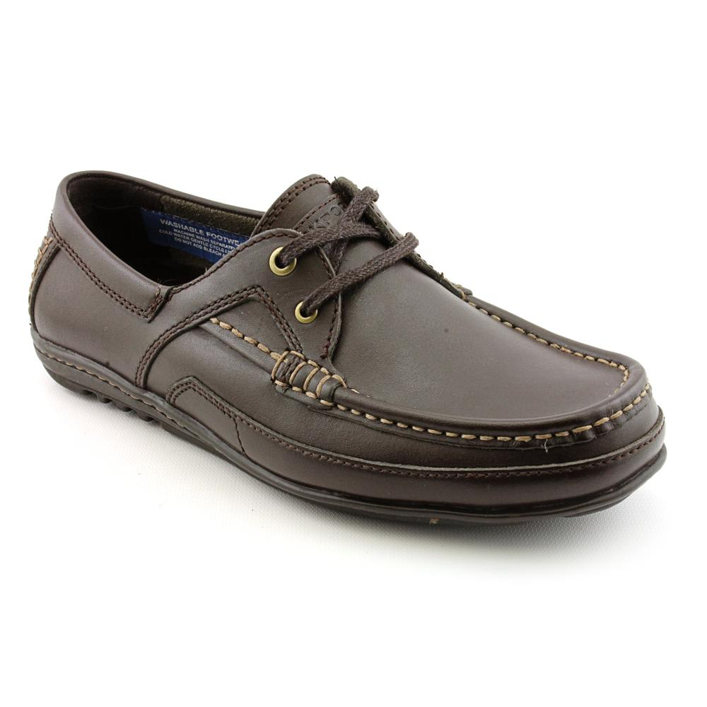 rockport s bl 2 eye leather casual shoes narrow