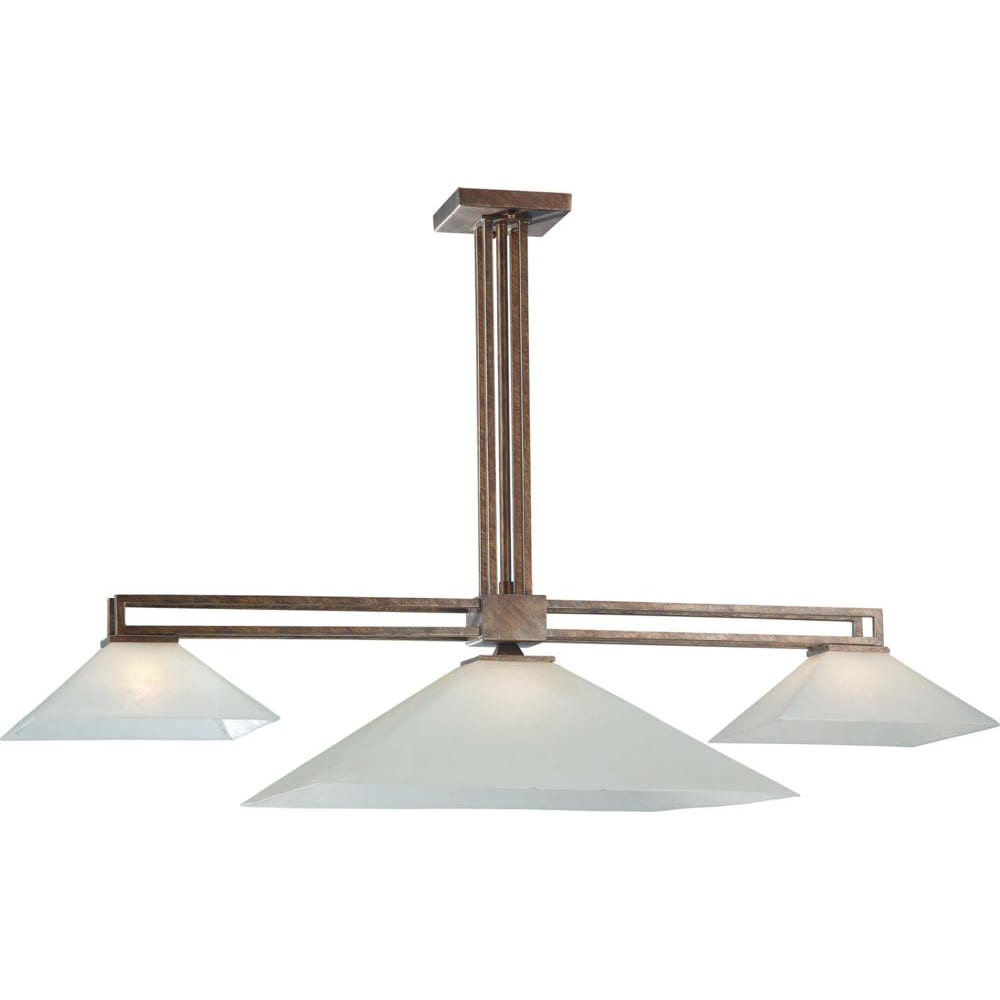 Nuvo Lighting 3-light Inca Goldtone Light Fixture