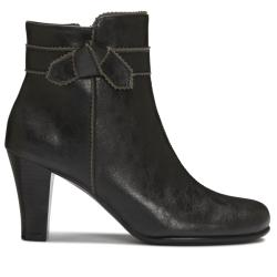 A2 by Aerosoles Ground Role Black Ankle Boot - Thumbnail 1