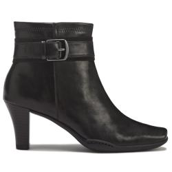 A2 by Aerosoles Cinch of Luck Ankle Black Ankle Boot