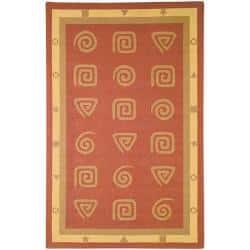 Safavieh Hand-hooked Geo Rust Wool Rug (8'9 x 11'9)|https://ak1.ostkcdn.com/images/products/80/287/P14476636.jpg?impolicy=medium