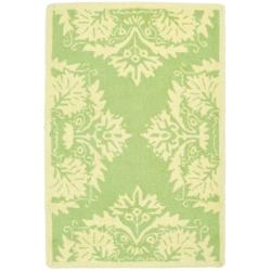 Safavieh Hand-hooked Chelsea Green Wool Rug (1'8 x 2'6)