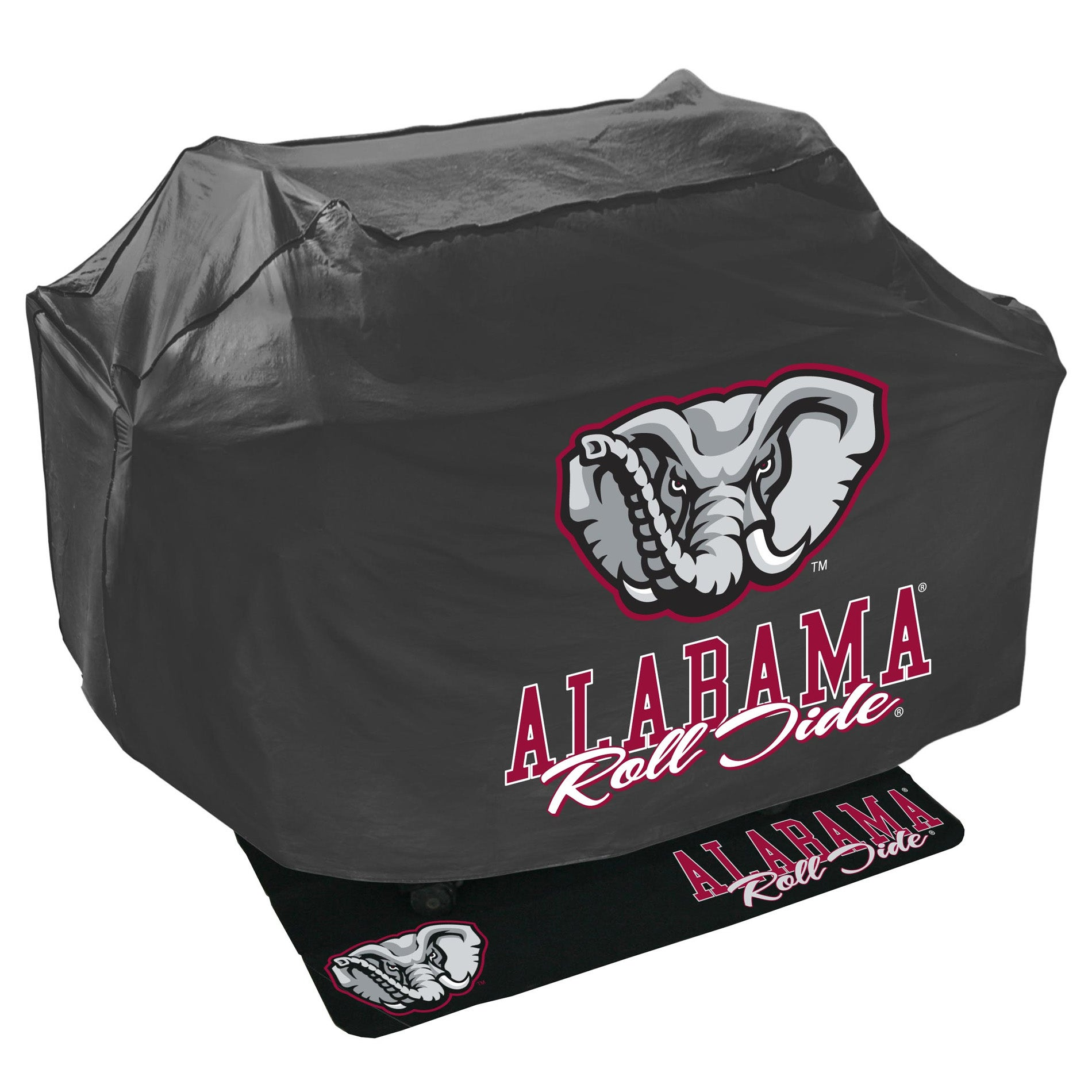 Alabama Crimson Tide Grill Cover and Mat Set