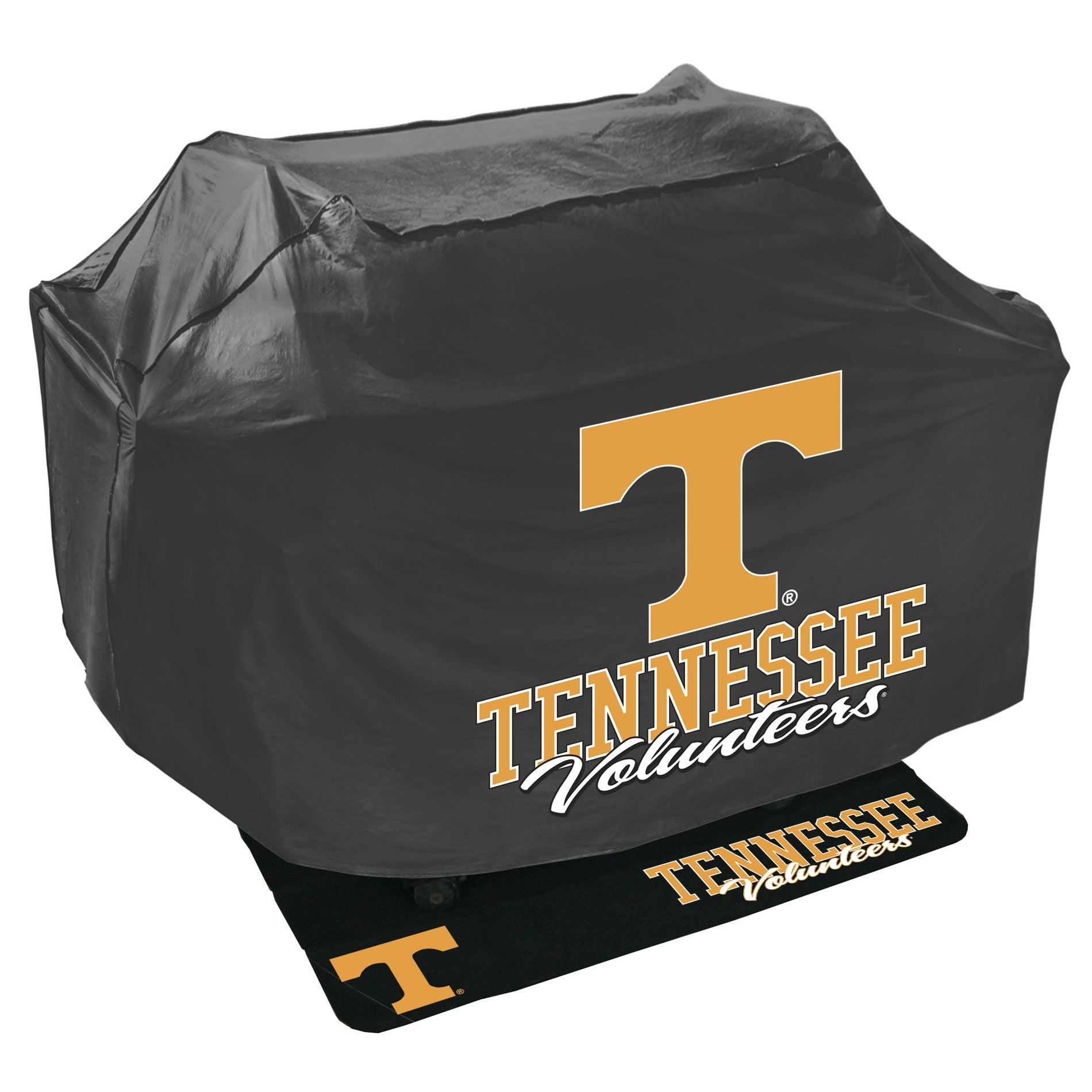 Tenessee Volunteers College-themed Grill Cover and Mat Protection Set