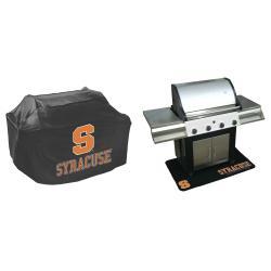 Syracuse Orangemen Grill Cover and Mat Set - Thumbnail 1