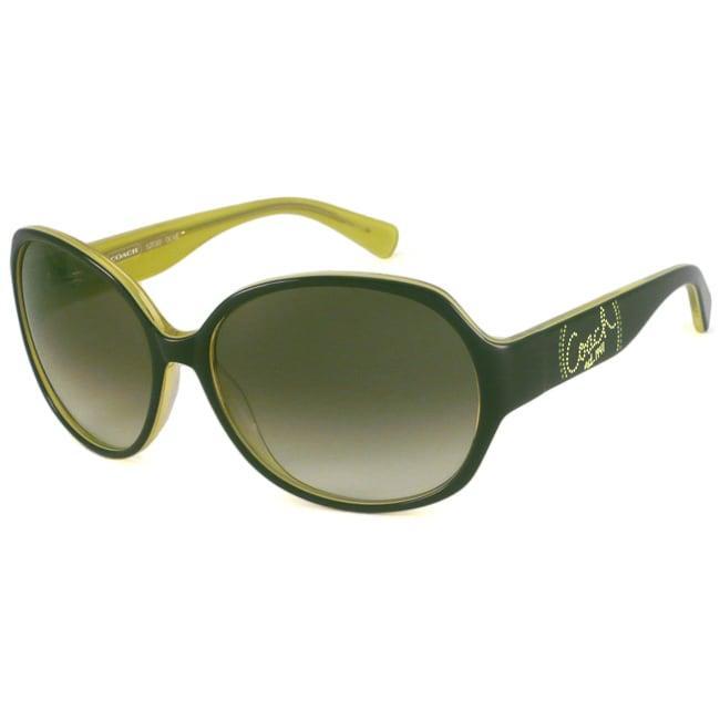 Coach Women's S2030 Rectangular Sunglasses