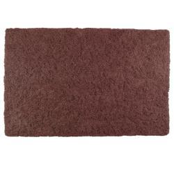 Lazo Rust Brown Shag Rug (5'3 x 7'7)