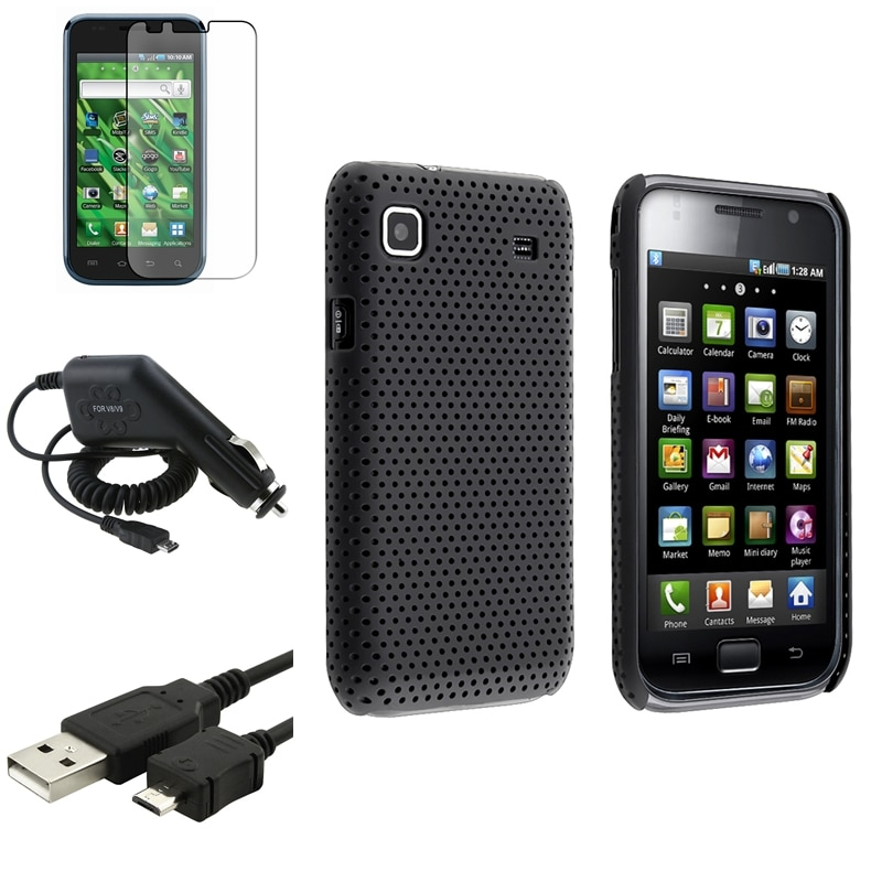 Case/ LCD Protector/ Cable/ Car Charger for Samsung Vibrant SGH-T959